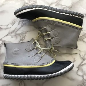 Sorel Duck Leather Ankle Boots